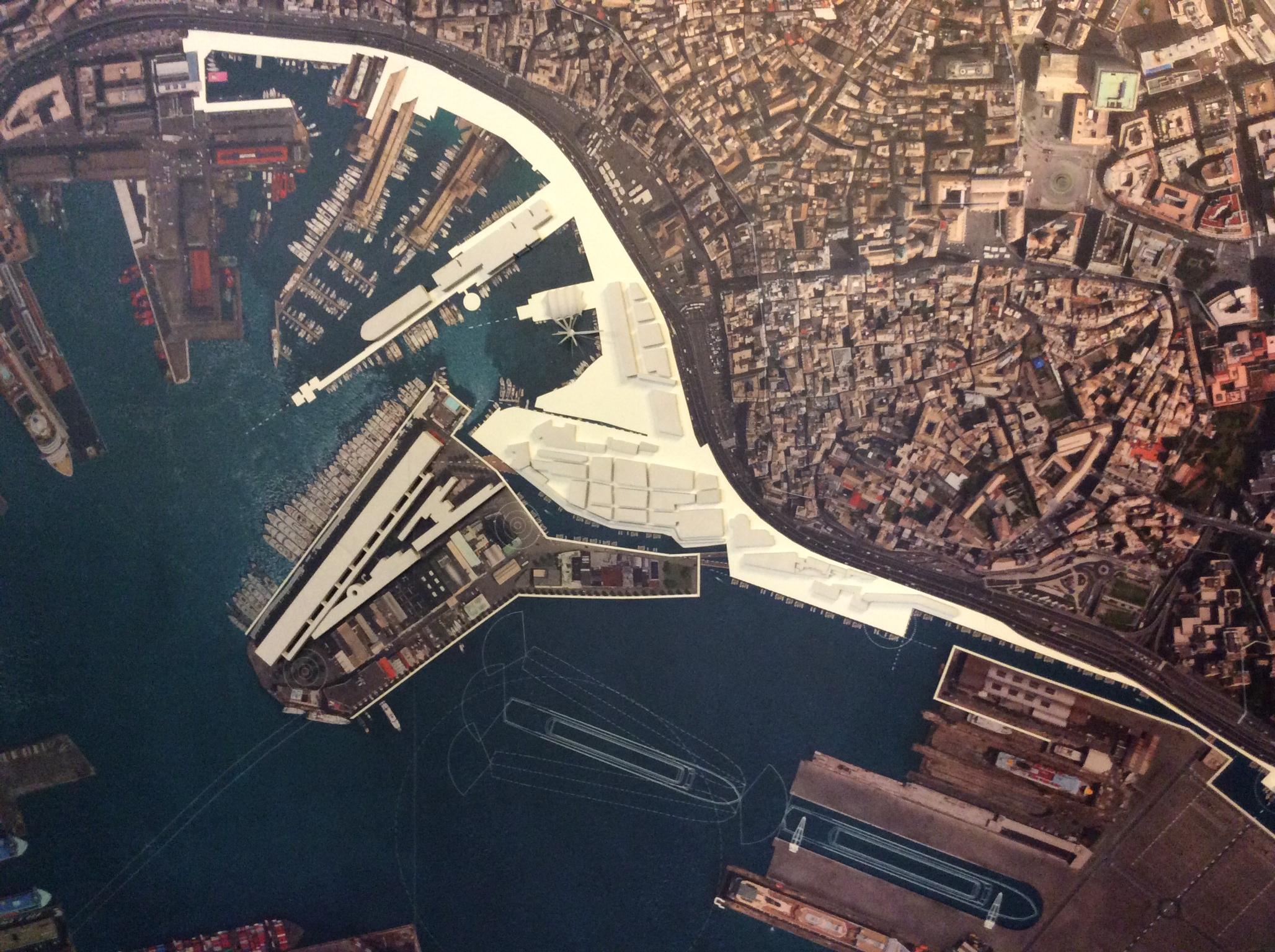 Comune di genova autorit portuale e regione liguria for Produttore di blueprint piano piano
