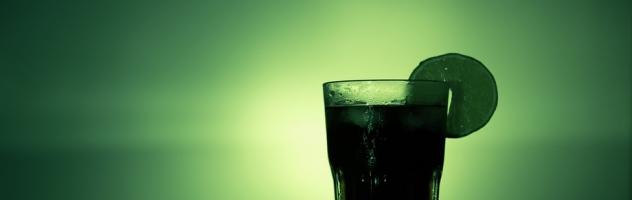 bicchiere verde