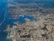 Veduta aerea di Genova