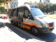 Uno dei nuovi bus Tomassini