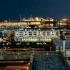 la vista dalla terrazza di palazzo reale di notte