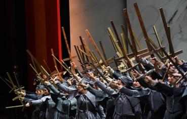 il coro del Teatro Regio di Parma (Don Carlo, 2016)