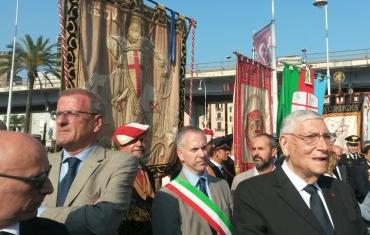 Il gonfalone di Genova