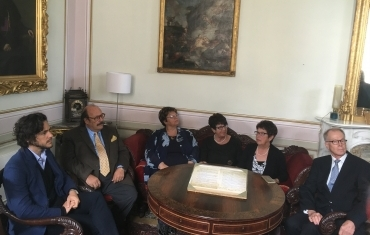 da sinistra: Jack Savoretti, Guido Savoretti, Tania Scappini, Wilko Meinhold, Ma