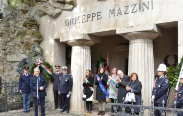 Le celebrazioni al Cimitero di Staglieno, 17 marzo 2017