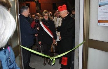 Marco Doria, Iole Murruni e il cardinale Angelo Bagnasco