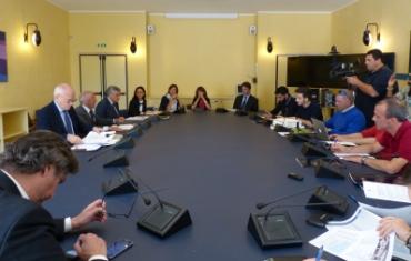 Conferenza stampa settimana europea mobilità