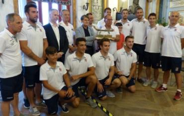 Premiazione a Palazzo Tursi degli atleti del galeone bianco