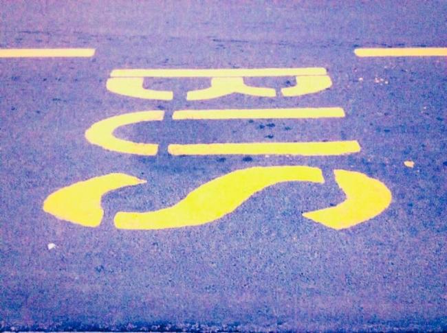 corsia gialla bus