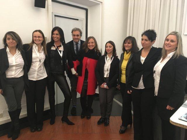 le mamme di Cicogna Sprint con Ilaria Fadda, Luca Ramenghi, Paola Bordilli, Soni