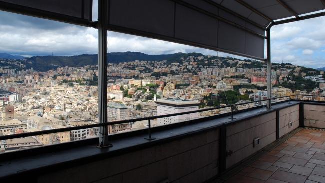 vista case di Genova