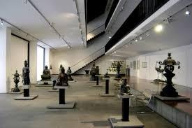 una sala del museo d'arte orientale Chiossone