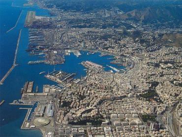 foto aerea del litorale cittadino