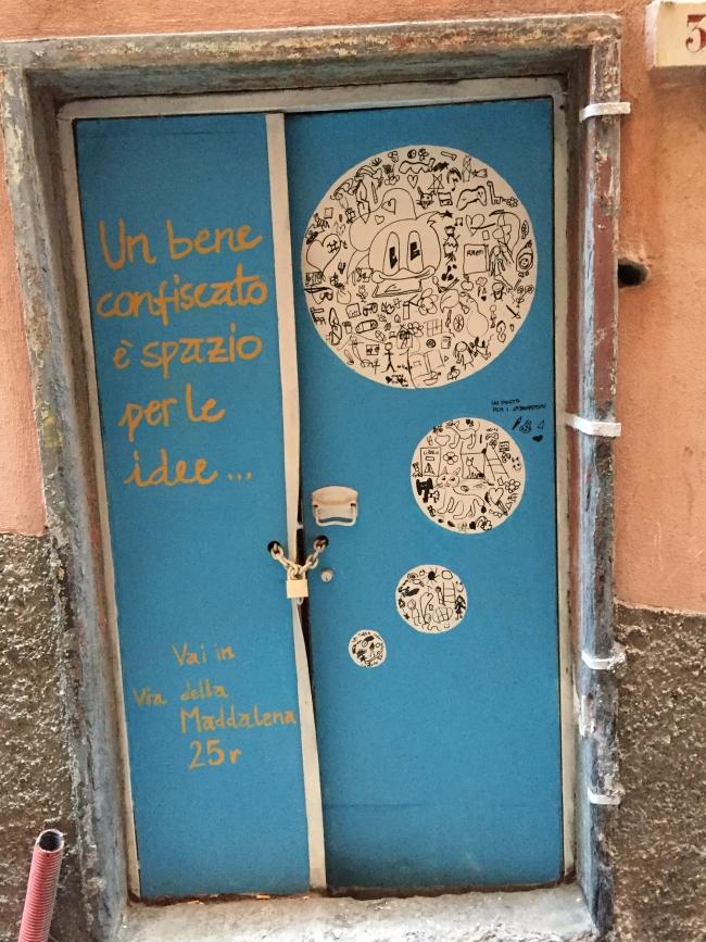 porta di negozio