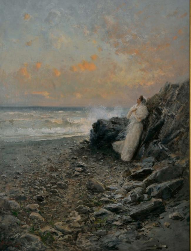 quadro La sposa del mare