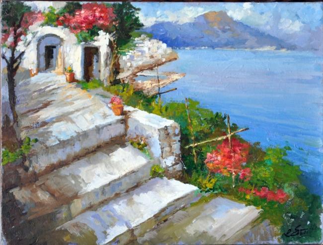 casina lungo la costiera amalfitana