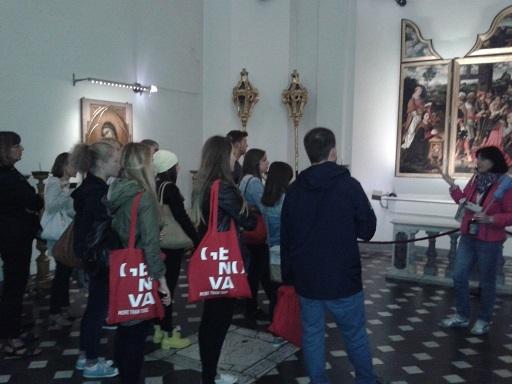 Studenti Erasmus in un precedente Welcome Day