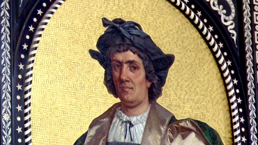 mosaico ritratto Colombo