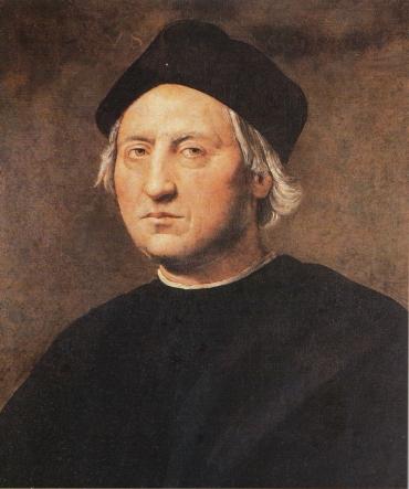 ritratto a olio di Cristoforo Colombo del 1520, attribuito a Ridolfo Bigordi det