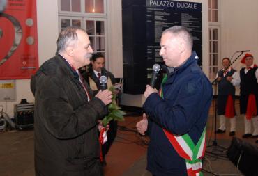 Sindaco Doria e Franco Bampi