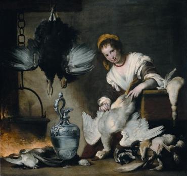 La cuoca di Bernardo Strozzi