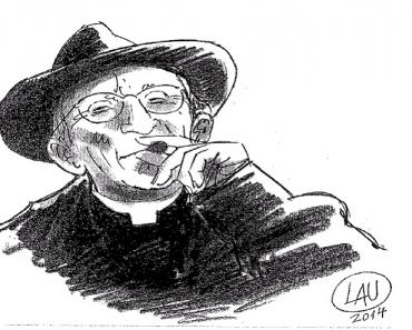 Ritratto di don Gallo (LAU 2014)