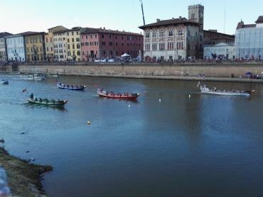 traguardo sull'Arno