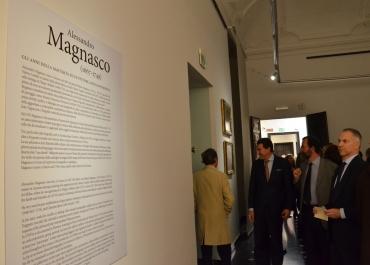 Inaugurazione mostra Magnasco 25 febbraio