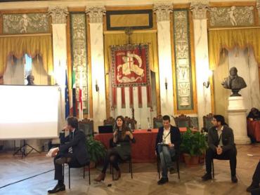assessore Serafini interviene alla conferenza conclusiva Interactive