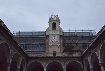Palazzo Tursi orologio