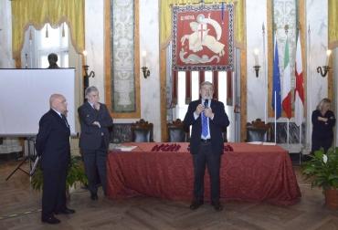 Il sindaco Bucci