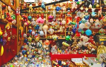 decorazioni natalizie al Mercatino di San Nicola