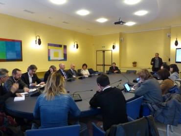 conferenza stampa parco ferroviario del campasso
