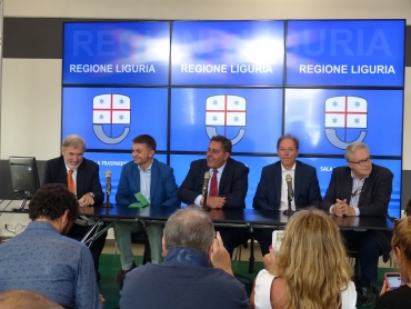 Conferenza stampa Cabina di regia waterfront