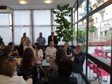 Colazione con il sindaco a Marassi
