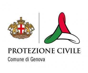 logo protezione civile del Comune di Genova