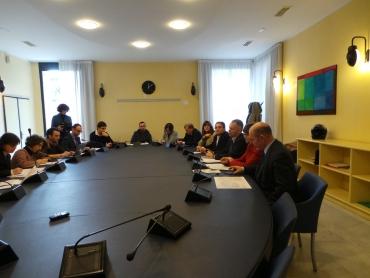 conferenza stampa sull'ospedale psichiatrico di quarto