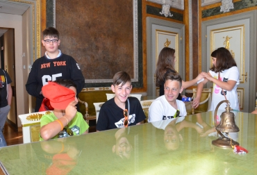 Ragazzi di Pieve Torina a Palazzo Tursi