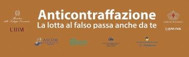 manifesto campagna contro la contraffazione