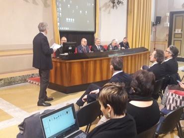 il segretario generale Caviglia, l'assessore Vinacci e i rappresentanti delle st