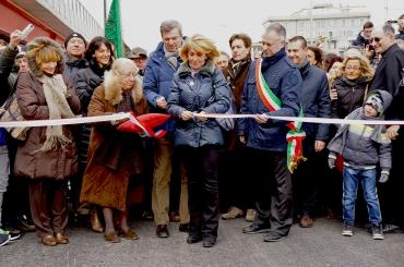 Taglio del nastro nuova strada a mare Guido Rossa
