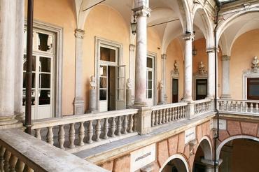 Palazzo Tursi - loggiato al piano nobile