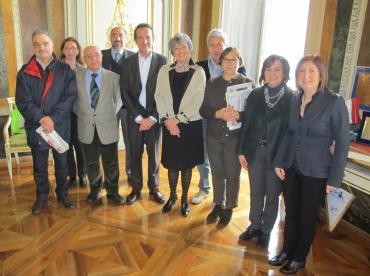 Marta Vincenzi e Roberta Papi incontrano i sindacati