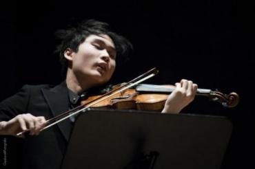 nella foto Yang In Mo, vincitore dell'edizione 2015 del premio Paganini