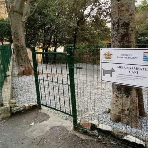 nuova area sgambatura cani