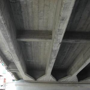 ponte Guglielmetti, intradosso impalcato