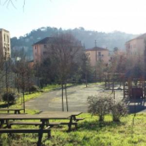 giardini di via Coni Zugna