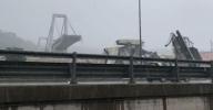 Ponte Morandi dopo il crollo del 14 agosto 2018
