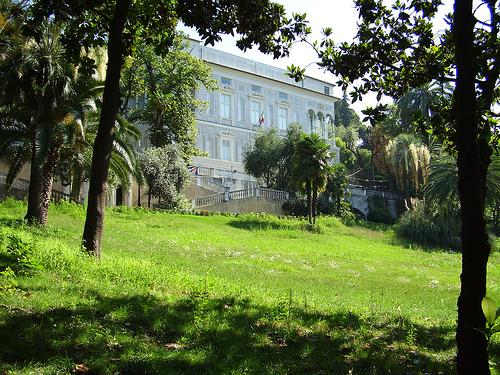 Foto della biblioteca Lercari